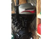 15 hp boat engine