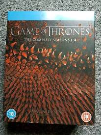 Game of thrones bluray box set