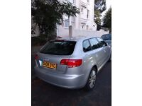 Audi A3 2.0 TDI Sport, Full service history, Very low millage 75K, Genuine car
