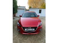 2014 Mazda 3, Soul Red, 2L Petrol, 165ps, low mileage - 36.6K, Full Mazda Service History