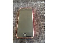 I phone 5c pink on EE