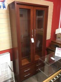 McDonaugh display cabinet * free furniture delivery.*