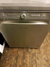 Hotpoint full size dishwasher silver free delivery