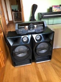 Sony Dual Tower Speakers