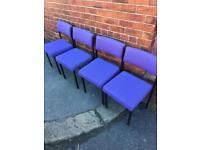 Reception chairs 4 available
