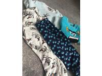 X2 Disney pyjamas Olaf and mister inc size medium (primark) goo condition