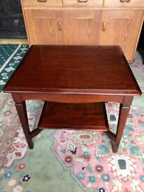 Stag Minstrel Mahogany Occasional Table Bedside Table Coffee Table Lamp Stand - Delivery Available