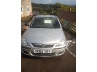 Vauxhall corsa 05 plate 12 months mot reduced price for xmas bargain must sell ! Great deal !