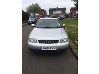 Quick sale, Audi A3 1.9 tdi £1100 bargain. 5 door with electric sunroof