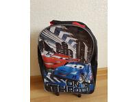 Disney Cars Kids' Suitcase Luggage Holiday Cabin Trolley Case Wheeled Bag Hand Luggage