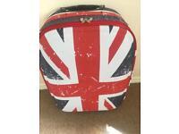 Union Jack suitcase medium size brand new