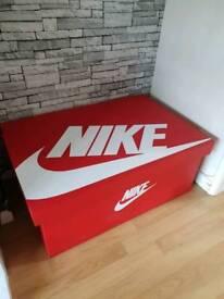 Nike shoe storage box