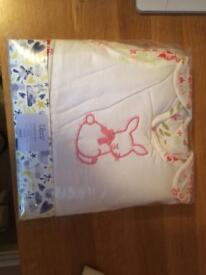 0-6 months baby girls sleeping bag. 2.5 tog