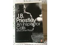 J.B.Priestley - An inspector Call and other plays for NAT 5 English book