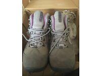 Hi-tec grey walking boots.