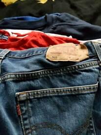 Mens levis not been worn 38w 32l