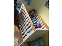 Cot for sale hardly used