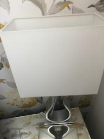 2x ikea bed side lamps