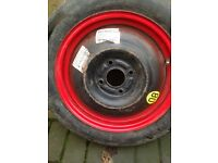 Ford space saver Spare wheel