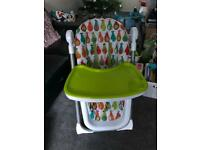 Mamas and papas reclining highchair