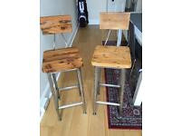 Bar stools pair