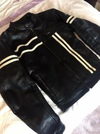 Prospeed Leather Biker Jacket Premium Leather Custom hand made NOT PRODUCTION! RRP £450 Wolverine