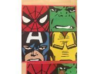 Marvel rug x 2