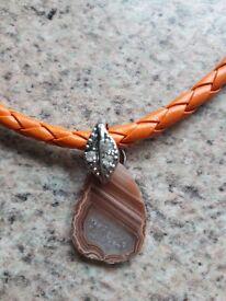 Scottish agate pendant