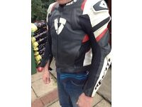 Motorbike suit- Revit Stellar 2pc, fit 5'8 slim person
