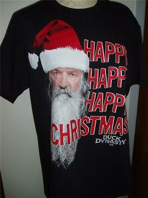 DUCK DYNASTY COMMANDER HAPPY HAPPY Holiday T