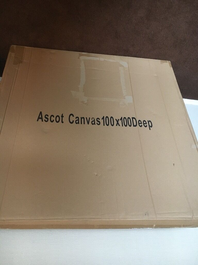 1m x 1m blank canvasin Carrickfergus, County AntrimGumtree - 1m x 1m blank canvas for sale. Unopened, was going to use and never did. £10 ONO