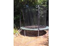 10ft Trampoline - used. With unused trampoline tent