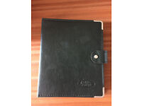 LAND ROVER DISCOVERY 1 - ORIGINAL LEATHER BINDER FROM 1995