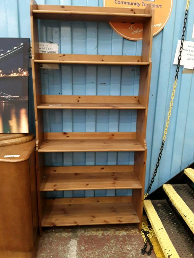 Pine Standing Shelves. Delivery Available