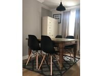 Farmhouse antique dining table