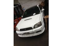SUBARU B4 TWIN TURBO 1999 BREAKING FOR SPARE PARTS