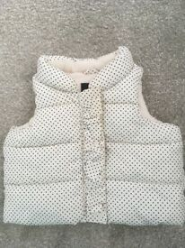 Baby girls jackets / gilet for sale - excellent worn condition
