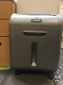 Fellowes cross cut shredder model S8-89Ci.