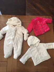 Baby girl - size up to 3 months - outerwear