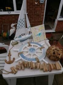 Sea side household ornaments