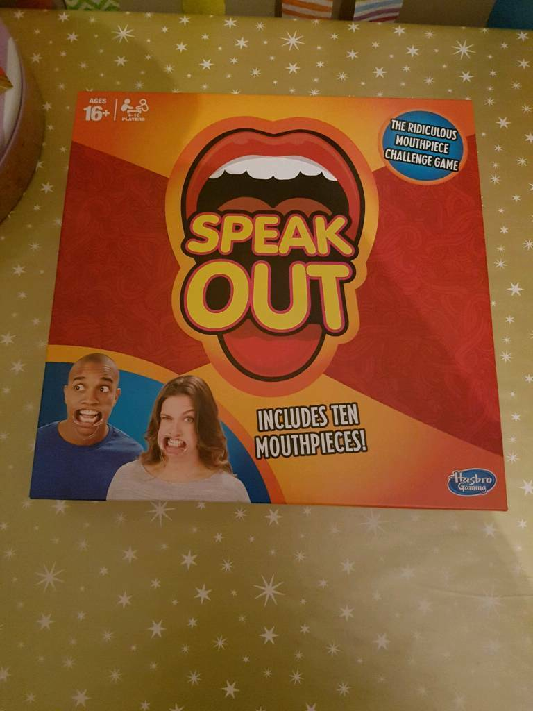 Speak out Game (Opened but never used)