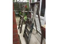 Wooden Step Ladders/Wedding Accessory