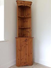 Pine Corner Display - Great condition or shabby chic it!