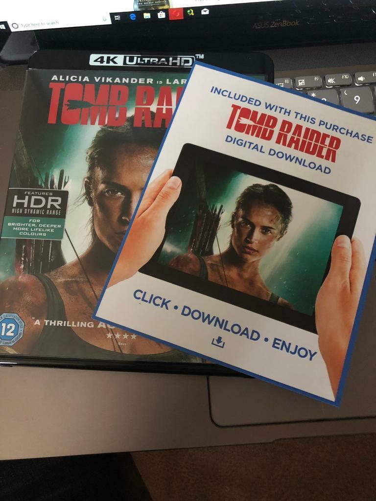 Digital code for Tomb Raider 4k | in Stenhousemuir, Falkirk | Gumtree