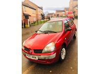 2003 RENAULT CLIO WITH SEPTEMBER 2018 MOT AND SERVICE HISTORY