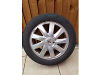 Set of 4 alloy wheels for Megane II