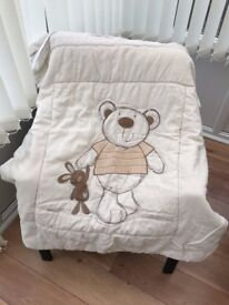 Cot Blanket and Light Shade