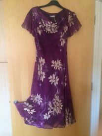 Jaques Vert new labelled £189 size14 cocktail length dress