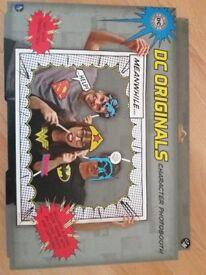 DC comic character photobooth brand new