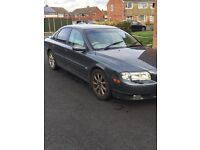 2002 Volvo S80 executive automatic diesel